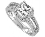 Diamond Engagement Ring 14K Gold 0.75 cts. 11R1564