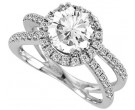 Diamond Engagement Ring 14K Gold 0.69 cts. 11R1582