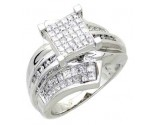 Ladies Diamond Ring 14K White Gold 1.40 cts. A56-R0050