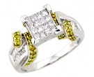 Ladies Diamond Ring 14K White Gold 1.25 cts. A62-R0300-WY