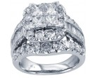 Ladies Diamond Engagement Ring 14K White Gold 1.00 ct. CL-30953