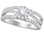 Ladies Diamond Bridal Ring 14K Gold 1.00 ct. GD-111770