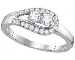 Ladies Diamond Engagement Ring 10K Gold 0.50 cts. GD-112132