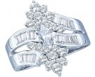 Diamond Engagement Ring 14K White Gold 1.25 cts. GD-14323