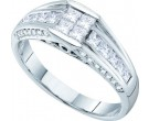 Ladies Diamond Engagement Ring 14K White Gold 1.01 cts. GD-45412