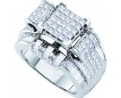 Ladies Diamond Engagement Ring 14K White Gold 2.00 ct. GD-53189