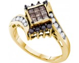 Ladies Diamond Fashion Ring 14K Yellow Gold 0.75 cts. GD-53628