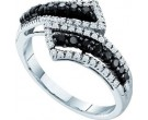 Ladies Diamond Fashion Ring 14K White Gold 0.53 cts. GD-57500