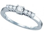Ladies Diamond Engagement Ring 14K White Gold 0.29 cts. GD-65561