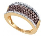 Ladies Diamond Fashion Band 10K Yellow Gold 0.81 cts. GD-72621