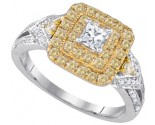 Ladies Diamond Engagement Ring 14K Gold 1.01 cts. GD-86669