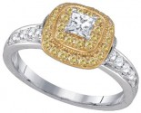 Ladies Diamond Engagement Ring 14K Gold 0.89 cts. GD-86681