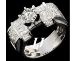 Diamond Engagement Ring 14K White Gold 2.91 cts. 7R1038