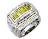 Men's Diamond Ring 14K White Gold 2.30 cts. A20-R0020-WY