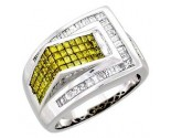 Men's Diamond Ring 14K White Gold 2.75 cts. A22-R0289-WY