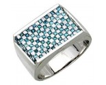 Men's Diamond Ring 14K White Gold 2.25cts. A30-R0209-WB