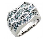 Men's Diamond Ring 14K White Gold 3.25cts. A30R0285-WB
