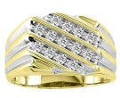 Men's Diamond Ring 10K Yellow Gold 0.50 cts. CL-11729