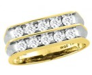 Men's Diamond Ring 10K Yellow Gold 0.25 cts. CL-16248