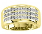 Men's Diamond Ring 10K Yellow Gold 0.50 cts. CL-20086