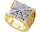 Men's Diamond Fashion Ring 10K Yellow Gold 0.50 cts. GD-13128
