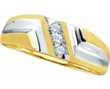 Men's Diamond Ring 10K Gold 0.10 cts. GD-18448
