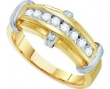 Men's Diamond Ring 10K Yellow Gold 0.50 cts. GD-58738