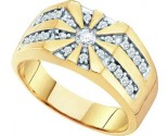 Men's Diamond Ring 10K Yellow Gold 0.50 cts. GD-21587