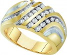Men's Diamond Ring 10K Yellow Gold 0.50 cts. GD-26428