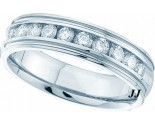 Men's Diamond Ring 14K White Gold 1.00 ct. GD-40798