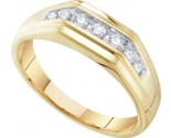 Men's Diamond Ring 10K Gold 0.25 cts. GD-55662