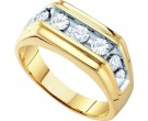 Men's Diamond Ring 10K Gold 1.00 ct. GD-55688
