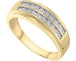 Men's Diamond Ring 10K Gold 0.25 cts. GD-58545