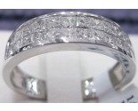 Men's Diamond Band 14K White Gold 1.08 cts. R023099