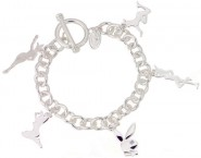 Playboy� Authentic Ladies Charm Bracelet CPBB1028