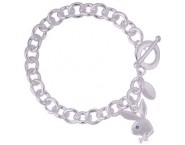 Playboy® Authentic Ladies Charm Bracelet CPBB388