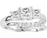 925 Sterling Silver Bridal 2-Piece Set GD-25058