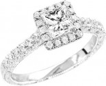 925 Sterling Silver Engagement Ring GD-25070