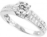 925 Sterling Silver Engagement Ring GD-25074