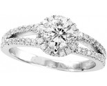 925 Sterling Silver Engagement Ring GD-25083