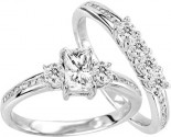 925 Sterling Silver Bridal 2-Piece Set GD-25104