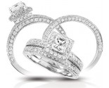 925 Sterling Silver Bridal 2-Piece Set GD-25124