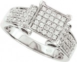 925 Sterling Silver Engagement Ring GD-25134