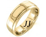 Yellow Gold Polished Wedding Band 7mm YG-1053