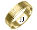 Yellow Gold Designer Wedding Band 6mm YG-1181