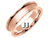 Rose Gold Designer Wedding Band 6mm RG-1271