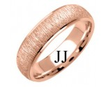 Rose Gold Designer Wedding Band 6mm RG-1272