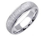 White Gold Designer Wedding Band 6mm WG-1272