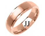 Rose Gold Designer Wedding Band 6mm RG-1278