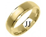 Yellow Gold Designer Wedding Band 6mm YG-1278